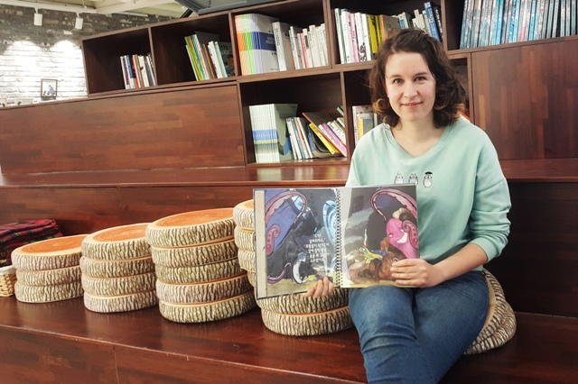 Interview: Agne Latinyte talks about her book Badang Badang