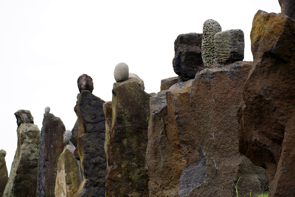 Jeju Stone Park, undoubtedly the best attraction for those wanting to delve deeper into the island