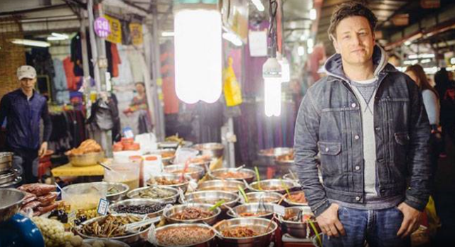 Jeju Dongmun Traditional Market, Jamie Oliver, British celebrity chef once explored the world's freshest produce!
