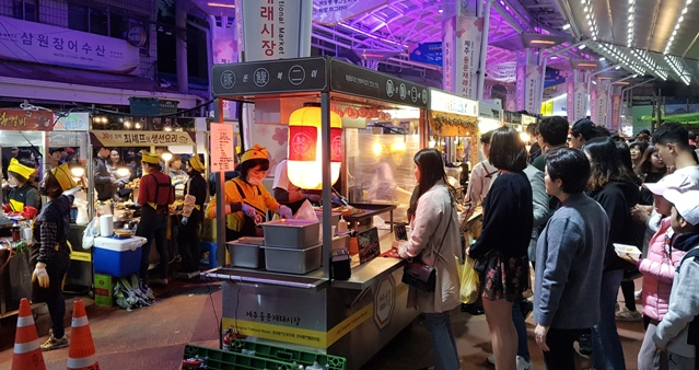 Dongmun Night Market: What to expect