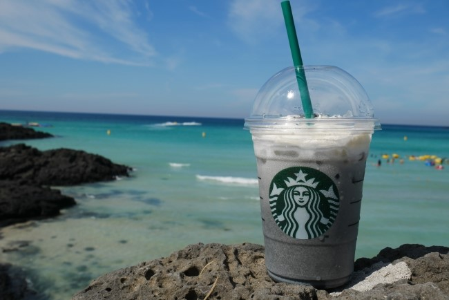 Six menus of Starbucks 'only-in-Jeju' limited edition