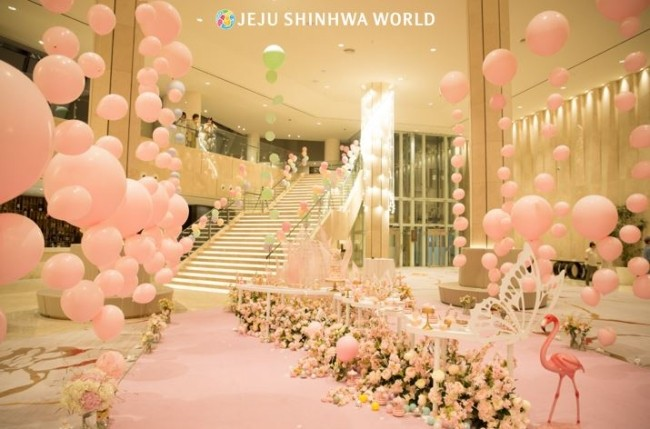 Jeju Shinhwa World Offers Wedding and Family Banquet Promotions