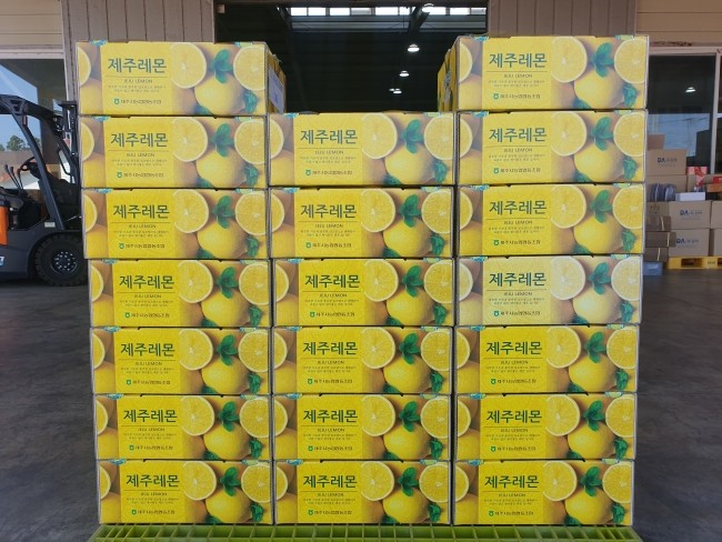 First in Korea to Export Jeju Lemon to Hong Kong