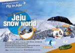 Jeju Snow World festival and shuttle bus
