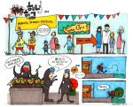 Cartoon: The haenyeo are extra busy during festival time
